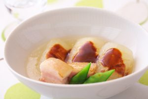 トウガン煮の中華仕立て