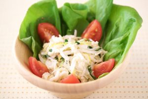 大根と貝柱のサラダ