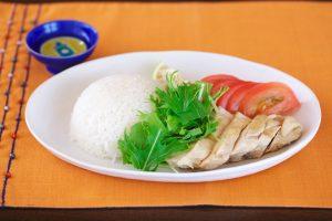 海南鶏飯(シンガポールライス)