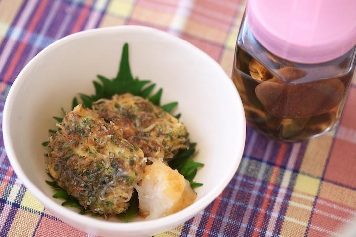 味わい調味料日本酒+変わり揚げ豆腐