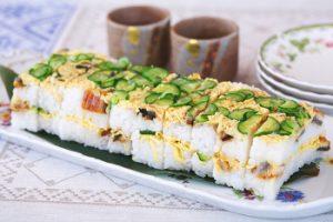 ウナギの型押し寿司