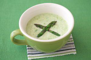 アスパラのスープ