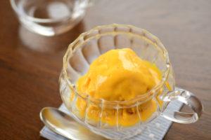 豆乳かぼちゃアイス