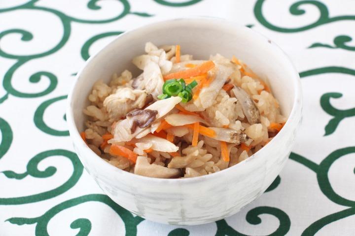 鶏ごぼうの炊き込みご飯(*2合分)