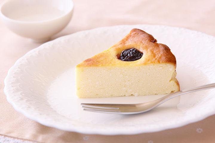 簡単ヘルシーチーズケーキ