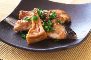 さわらと高野豆腐のオイスター照り焼き