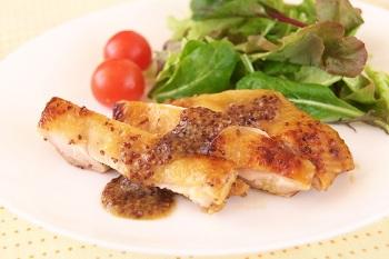 鶏肉のハニーマスタード焼き
