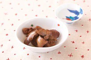 鶏レバーの日本酒煮