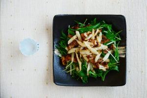 ごぼうと豚肉のサラダ