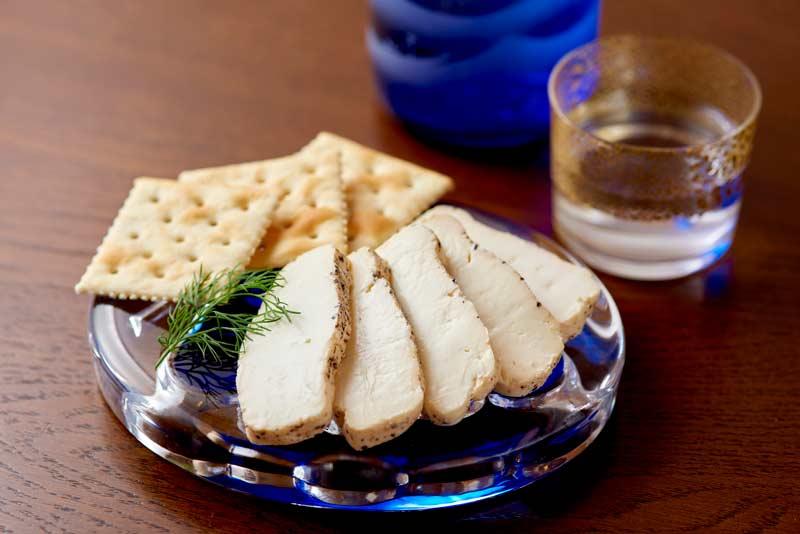 クリームチーズの酒粕味噌漬け