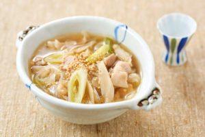 豚とごぼうの生姜スープ